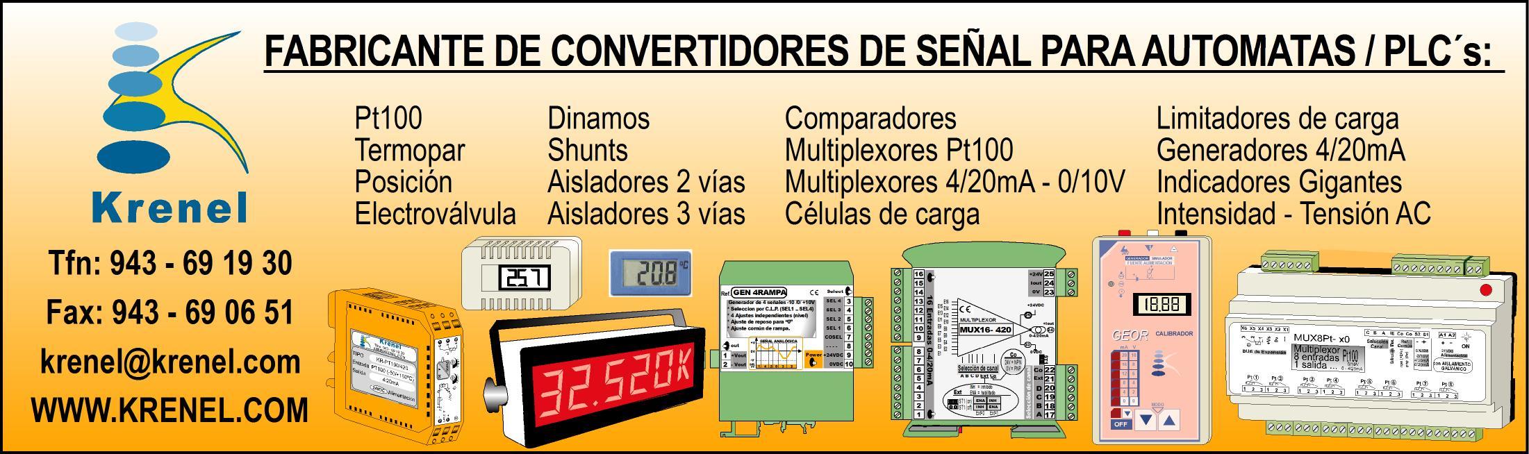 fabricante de convertidores de señal